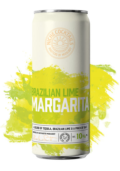 Niche Cocktails Brazilian Lime Margarita Canned Cocktail