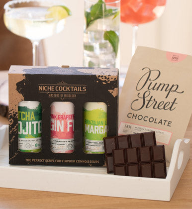 Niche Cocktails & Chocolate Gift Box