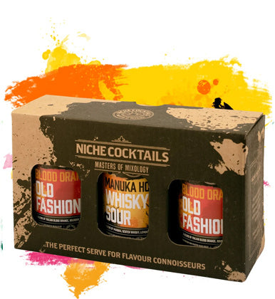 Niche Cocktails Lowballers Gift Box