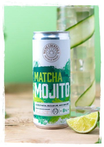 Niche Cocktails Matcha Mojito Canned Cocktail