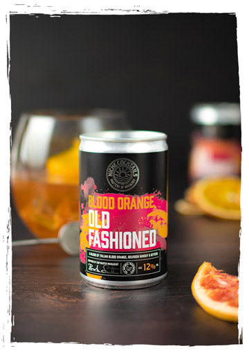 Niche Cocktails Blood Orange Old Fashioned Canned Cocktail