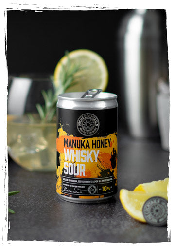 Niche Cocktails Manuka Honey Whisky Sour