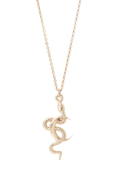 SNAKE MOON NECKLACE