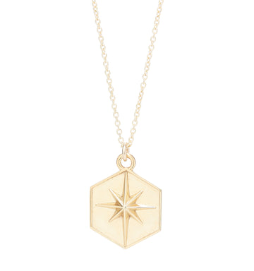 NORTHERN STAR HEXAGON PENDANT