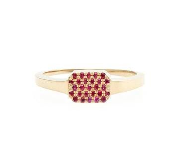 Margaux Ruby Pavé Ring