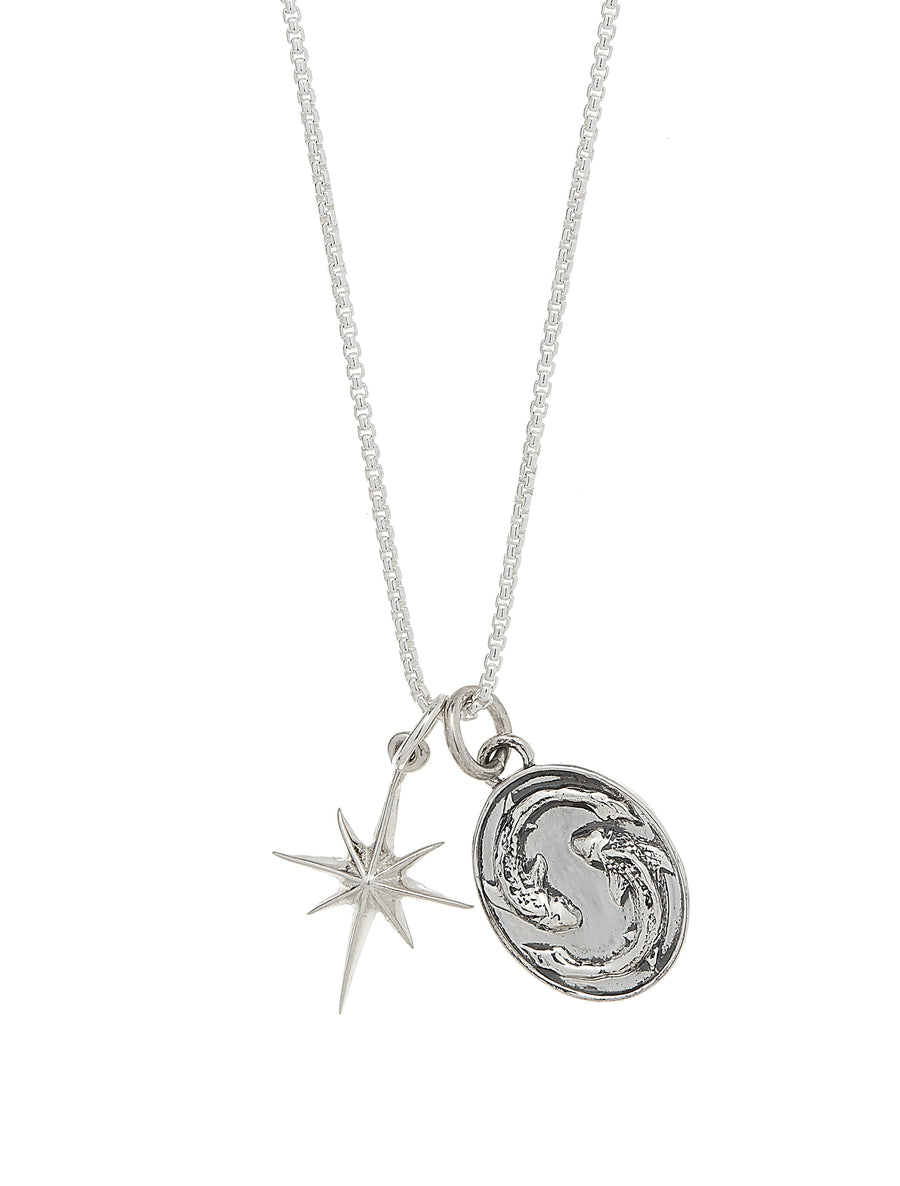 Star Sign Zodiac Charm Necklace