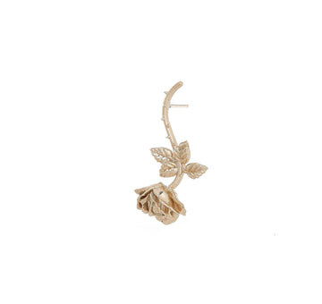 DANGLING ROSE STUD