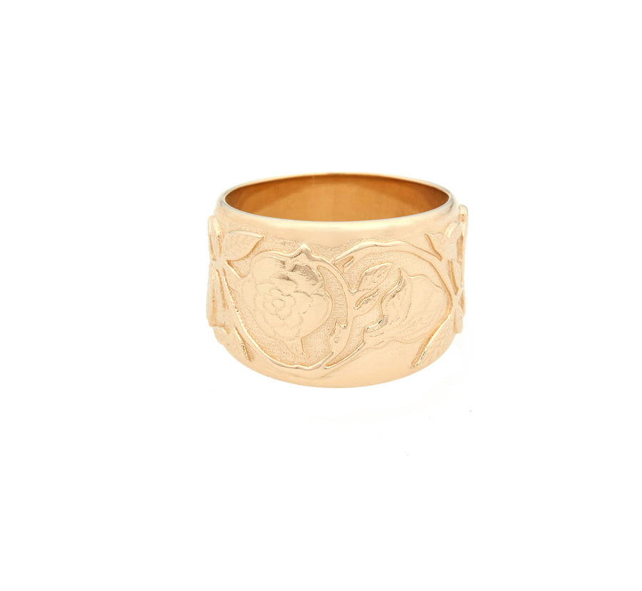 Rose Vine Cigar Band