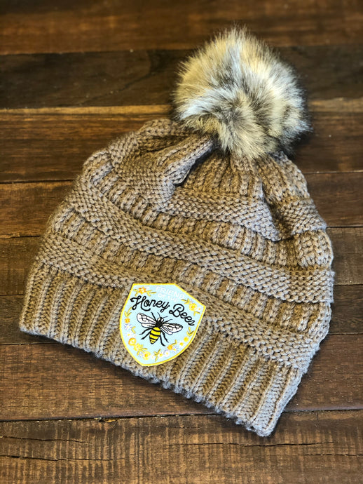Friend of the Honey Bee's Pom Pom Beanie