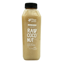 Rise Juicery Raw Coconut 16 oz
