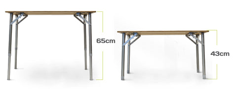 Zempire Kitpac Large Bamboo Table