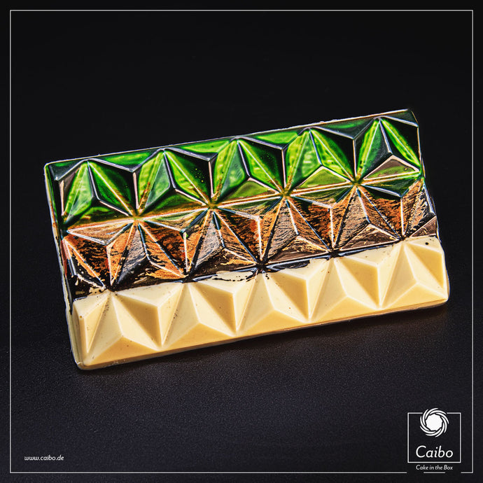 Chocolat d'art - Pyramid Copper & Smaragd