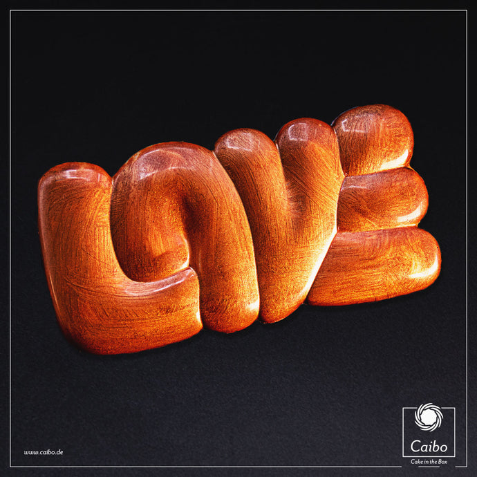 Chocolat d'art - Love Copper