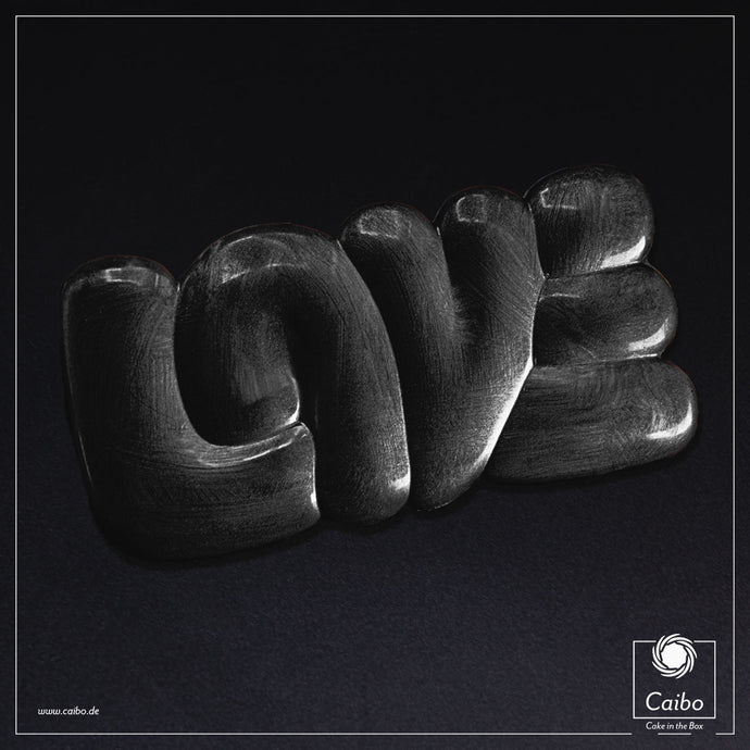 Chocolat d'art - Love Black