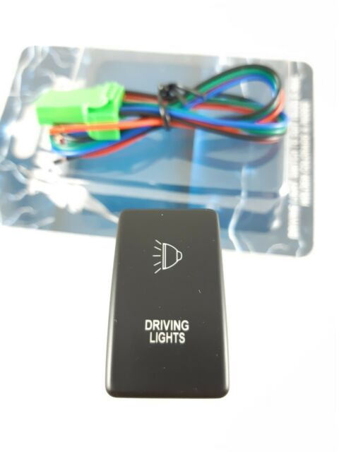 THUNDER OE STYLE PUSH BUTTON SWITCH DRIVING LIGHT HOLDEN RODEO / ISUZU / COLORADOTDR11004