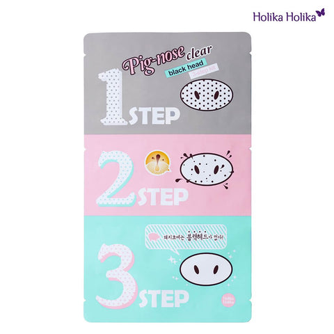 Holika Holika Pig Nose 3-step Blackhead Remover uk