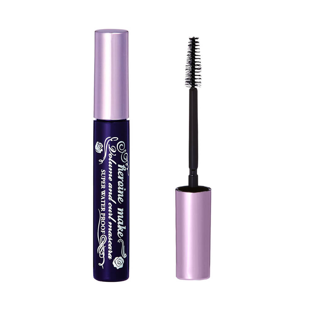 Kiss Me Volume & Curl Waterproof Mascara - #01 Black 6g | KissMe 奇士美花漾美姬浓密&卷翘防水睫毛膏 6克