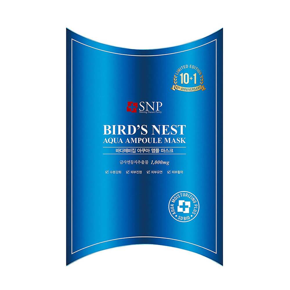 SNP Bird's Nest Aqua Ampoule Mask UK