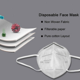KN95 mask single pack FFP3/FFP2 Four-layer melt-blown non-woven fabric