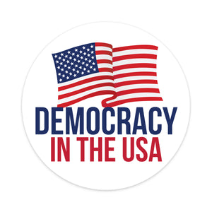 democracy in the usa car magnet
