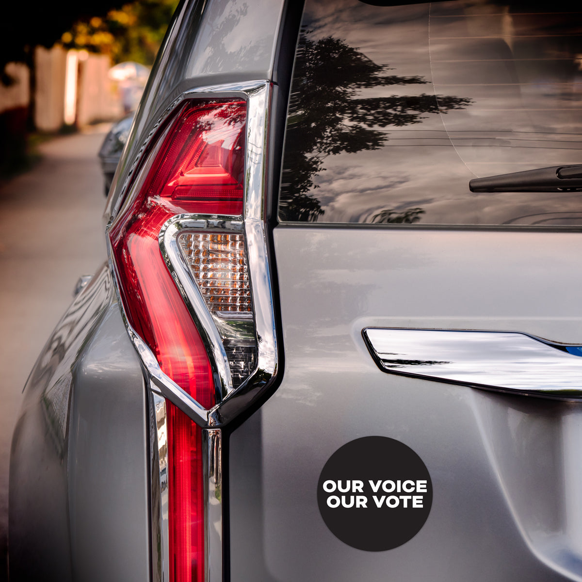 OUR VOICE OUR VOTE Car Magnets