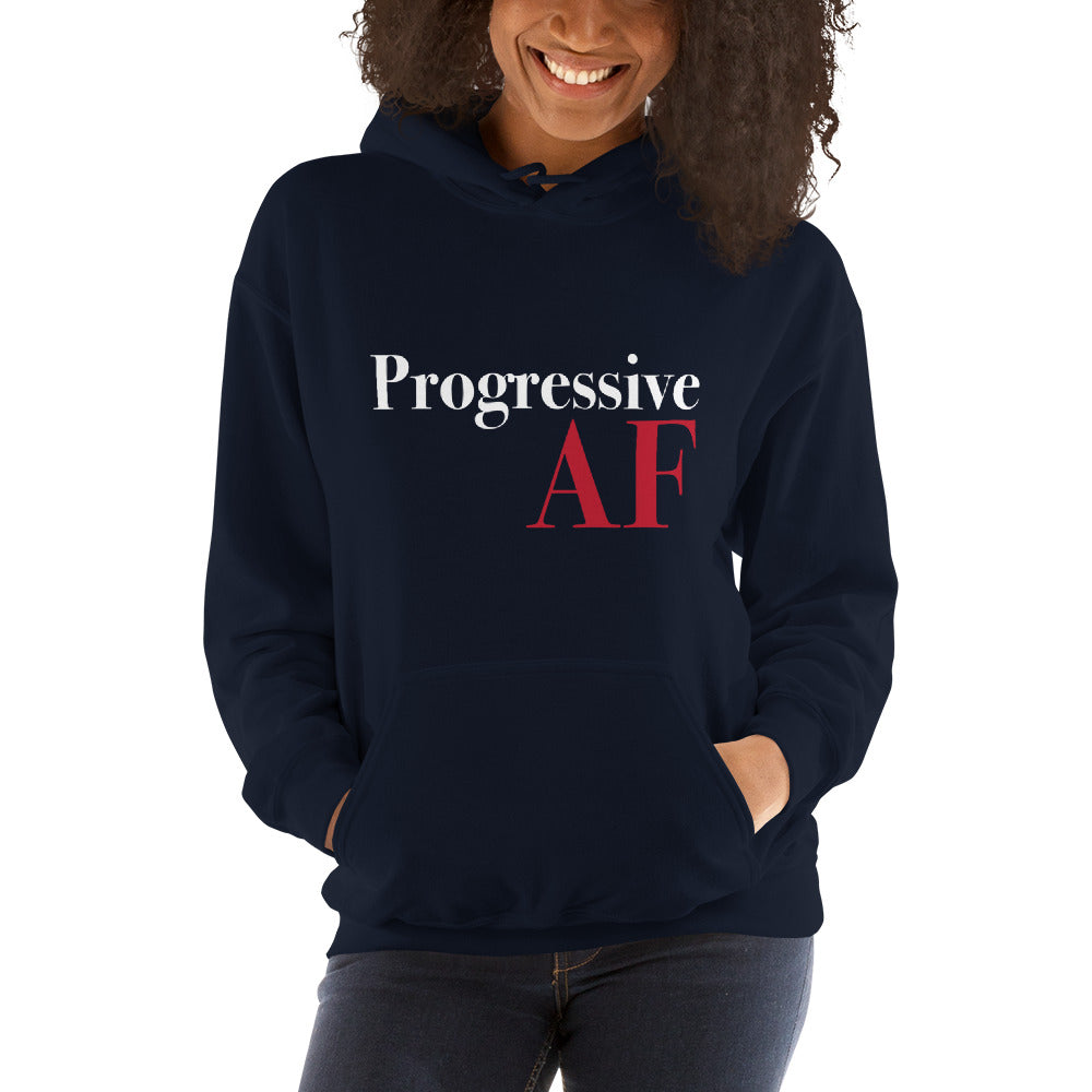 Progressive AF: Sweatshirt on a woman