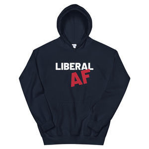 Liberal AF: Sweatshirts in red, white & blue