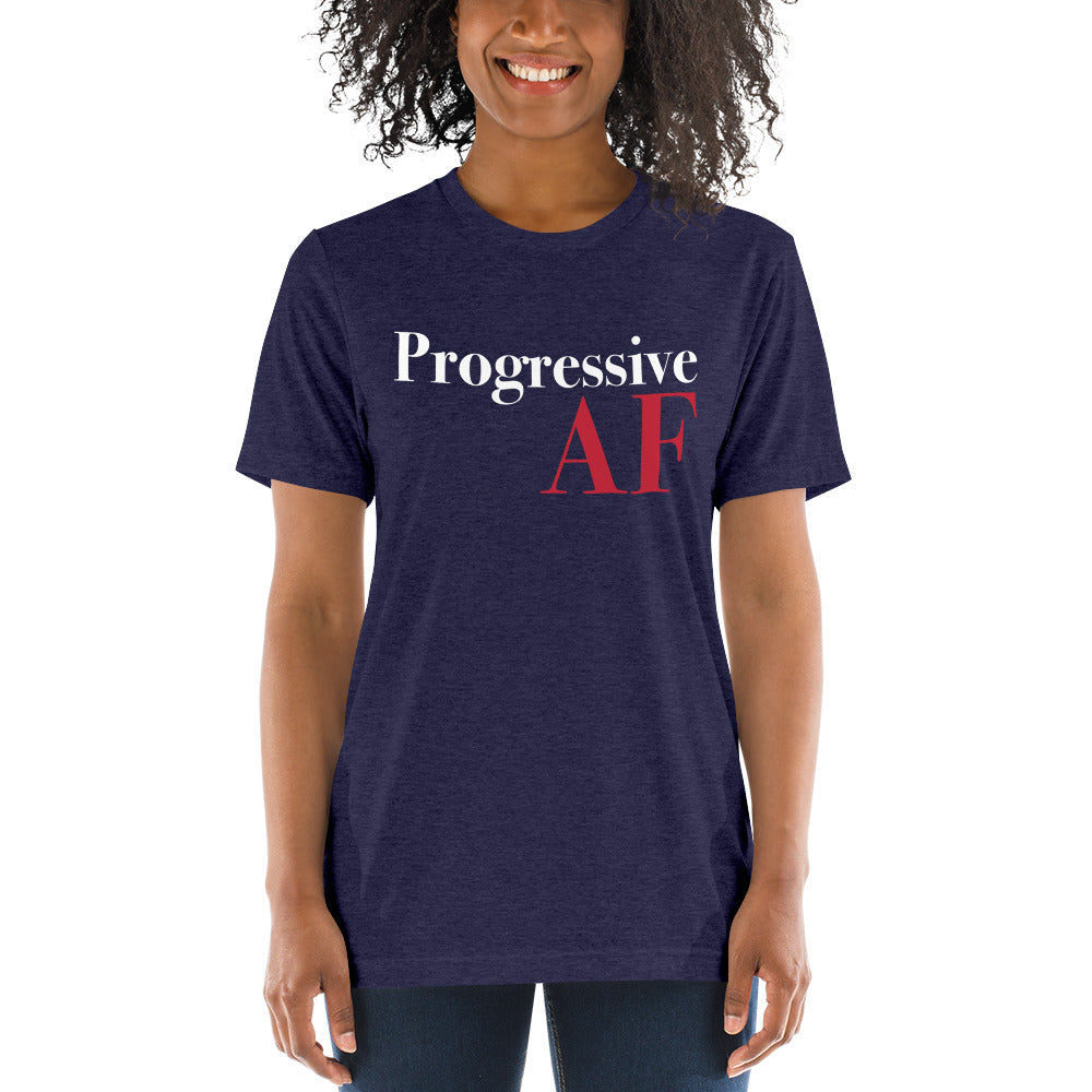 Progressive AF: T-Shirt on a woman