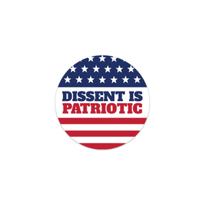 dissent is patriotic decal sticker