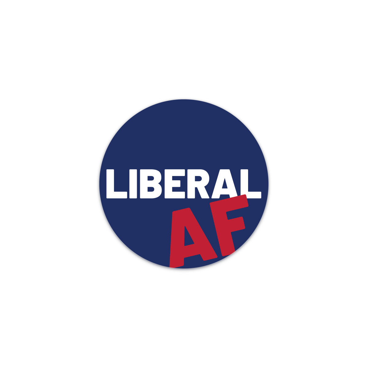 liberal af decal sticker