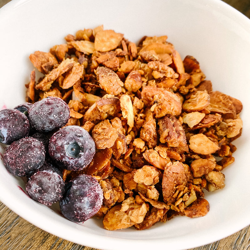 Blueberry No-Nola (Nut Based Granola)