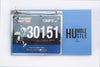 Race Bibs Holder - Stay humble, Hustle Hard