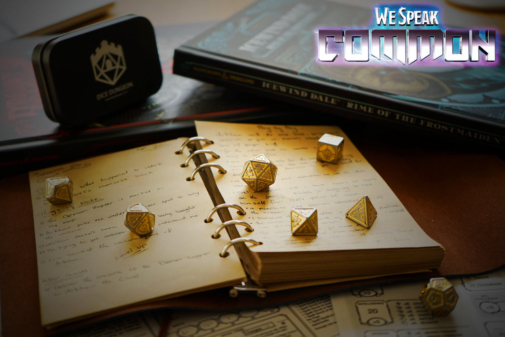 dnd dice artistic photo