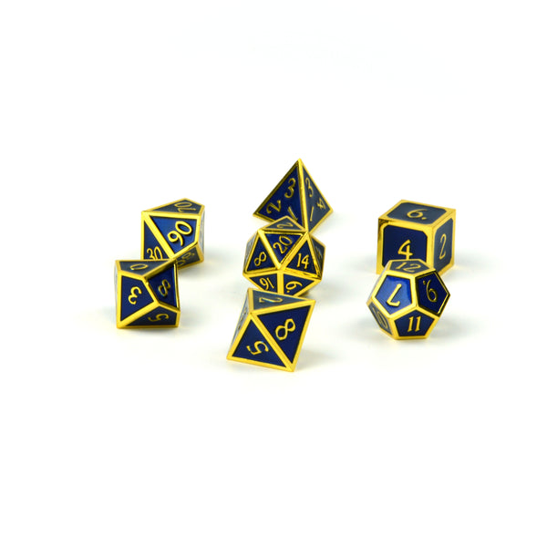 dnd dice golden age blue