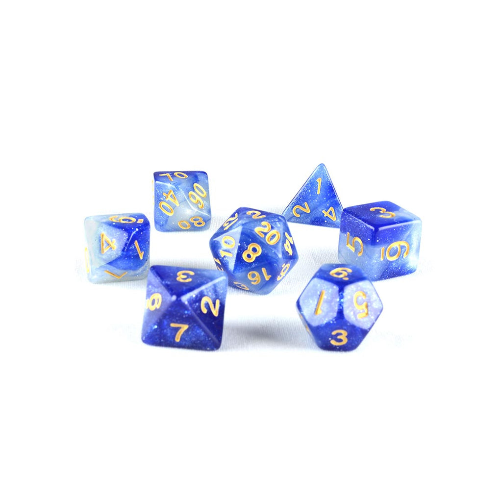 Crab Nebula DND Dice set
