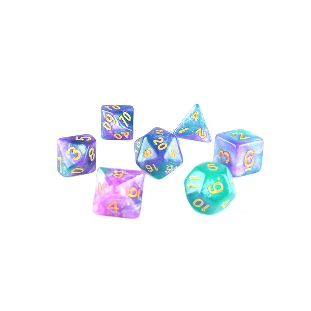 Eagle Nebula DND dice set