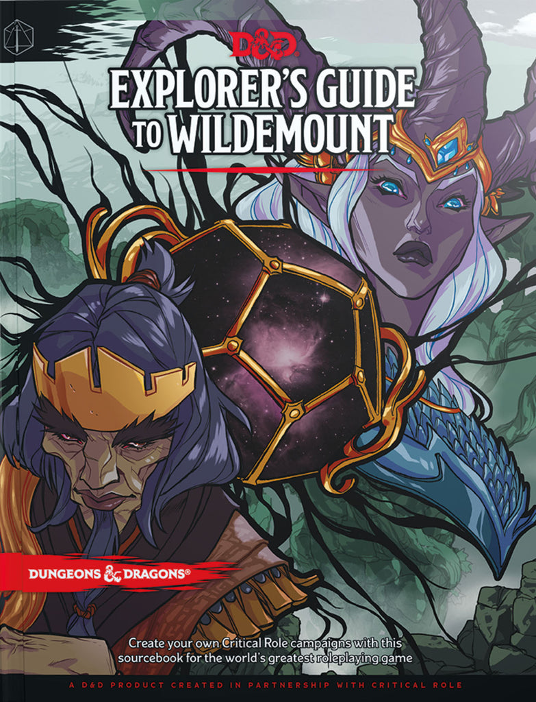 Explorer's Guide To Wildemount - Dungeons & Dragons (DnD) 5e