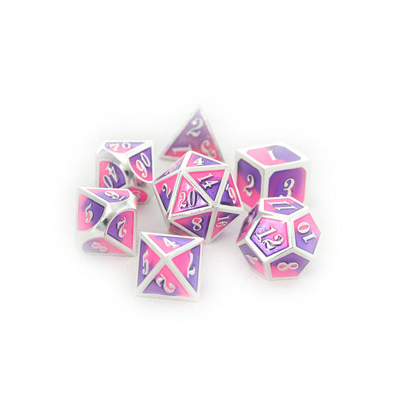 faerie fire dnd dice set