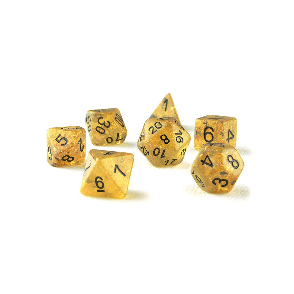 Fools Gold resin dnd dice
