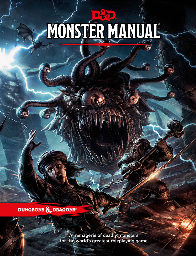 Monster Manual - Dungeons & Dragons (DnD) 5e