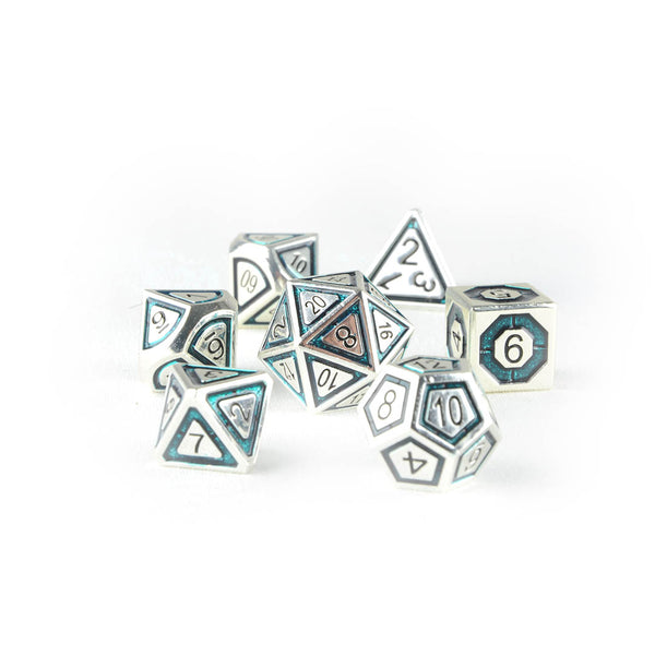 trida the blue dnd dice set