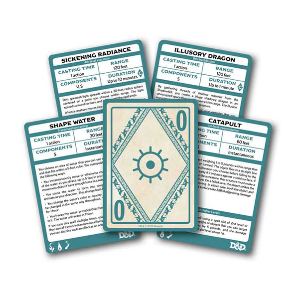 dnd xanathars guide to everything spellbook card example