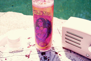 """Feeling Myself"" Hand-Crafted Manifestation Candle"