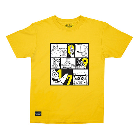 0917 Spongebob Comicbox Graphic T-Shirt