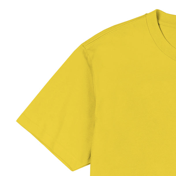 0917 Gaya sa Pelikula Don't Worry Pancake Yellow Shirt