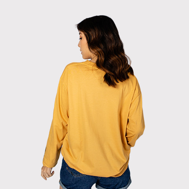 0917 MTV Mustard Long Sleeve