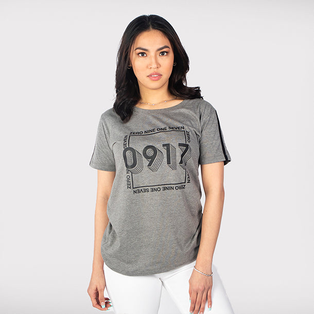 0917 Atrium Stamp WMN Shirt