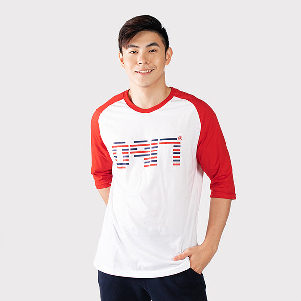 0917 Great Wave Raglan Shirt
