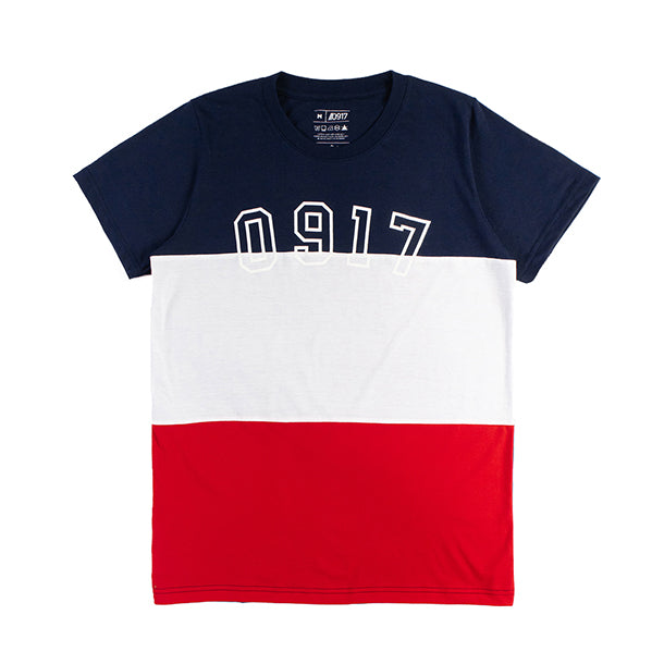 0917 Tricolor Wave Shirt