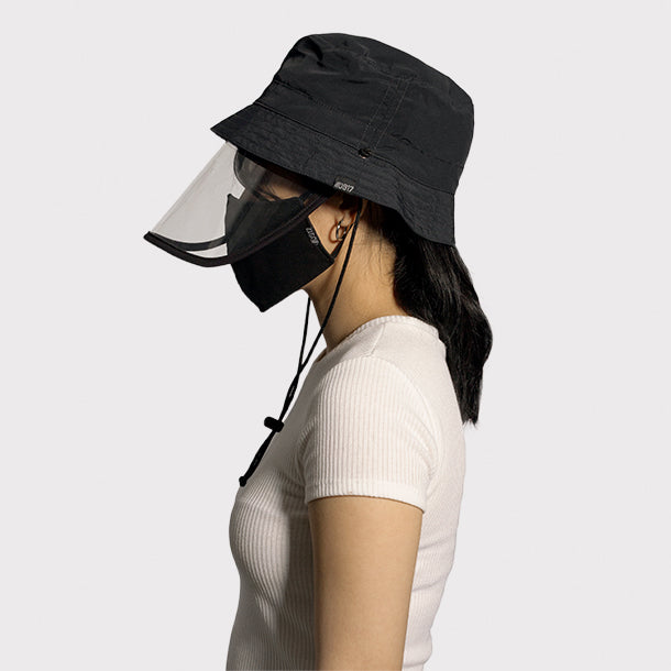 0917 Kmmunity PH Bucket Hat with Face Shield